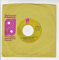 MFSB The THREE DEGREES Vinyl 45T TSOP Sound Philadelphia SOMETHING NOTHING RARE