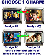 Harry Potter Custom Italian Charm choose! Hogwarts