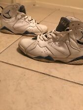 d209b6ac93a5 NIke Air Jordan Retro 7 French Blue Mens Size 8 Shoes 2015 Used Authentic