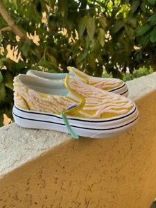 Vans Vault Super Comfy Cush Slip-On LX Yellow youth 5y Brand New