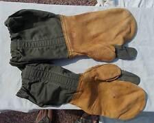 USAF Bomber Crew Cold Weather Gloves With Trigger Finger, M-1951, Medium