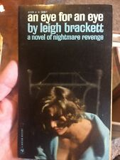 An Eye For An Eye By Leigh Brackett First Paperback Printing Collectible Mystery