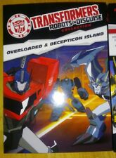 📀 Transformers: Robots in Disguise: Collection:Overloaded Decepticon Island DVD