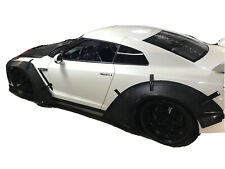 2008-2020 Nissan GTR R35 LIBERTY WALK STYLE WIDE BODY KIT (4 pieces over fender)