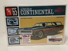 AMT 1965 Lincoln Continental 1/25 scale model car kit new 1081