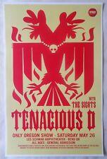 TENACIOUS D Jack Black 2012 Gig POSTER Bend Oregon Concert