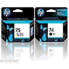 EXP 2017 IN RETAIL BOX Genuine HP 74/75 Combo DeskJet D4280 D4360 D4363 D4368