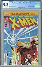 True Believers: X-Men Mister Sinister #1 CGC 9.8 Reprints Uncanny X-Men 221