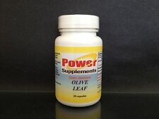Olive Leaf Extract 500mg, antioxidant, cholesterol - 30 capsules. Made in USA.