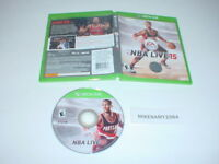 NBA LIVE 15 game in case for Microsoft XBOX ONE system