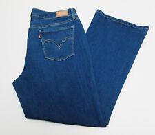 Levi's Women's 515 Boot Cut Stretch Denim Blue Jeans Size 16