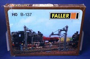 Faller HO Scale Swivel Water Cranes Building Kit B-137
