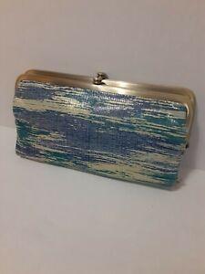 Hobo International Lauren Cracked Glass Wallet