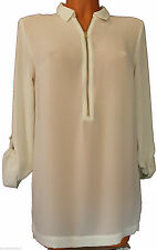 Marks and Spencer Long Sleeve Classic Tunic, Kaftan Women's Tops & Shirts