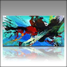 Vnartist / ORIGINAL 120cm x 60cm Abstrakt Gemälde Modern XXL Bilder 055