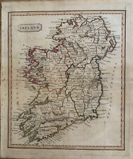 1826 IRELAND HAND COLOURED ANTIQUE MAP BY JOHN CARY 194 YEARS OLD