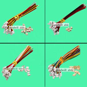 Micro Mini Stecker 1.0mm 2 3 4 5 6 7 8 9 10 11 12Pin mit Kabel JST SH kompatibel