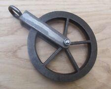 Industrial Cast Iron Hanging Pulley Wheel for Sconce Vintage Light Lantern