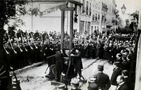 Framed Print - Public Execution by Guillotine France 1928 Picture Death Penalty