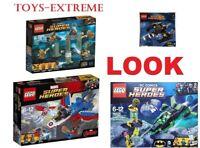 LEGO MARVEL & DC SUPER HEROES SETS BUNDLE 76085 76076 76025 NO MINIFIGURES
