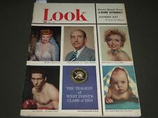 1952 JUNE 3 LOOK MAGAZINE - MARILYN MONROE COVER - ST 4823