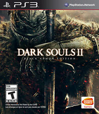 Dark Souls II Black Armor Edition PS3 New PlayStation 3, Playstation 3