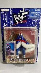 """Blue Blazer"" Owen Hart Action Figure Jakks Pacific DTA Tour 2 WWF (Very Rare)"
