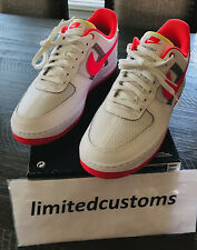 Brand New Men's Nike Air Force 1 LOW '07 LV8 White Crimson SNEAKER CI0060-102