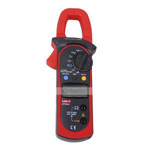 UNI-T UT204A Digital Handheld Clamp Multimeter Tester DMM Voltmeter Amp AC DC T