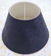 Large Dark Blue Lampshade.
