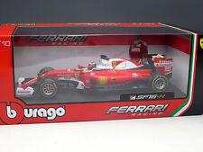 New 1/18 Bburago Ferrari SF16-H 2016 F1 Formula One race Car Model N.7 Kimi Rai.