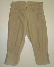BEAUTIFUL SASS&BIDE KHAKI BEIGE 3/4 LENGTH PANTS size 28