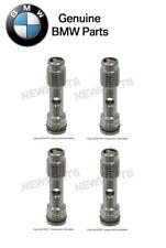 For BMW E60 E63 745i Set of 4 Cylinder Head Oil Check Valves w/ O-Rings Genuine
