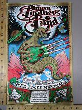 1998 Rock Roll Concert Poster The Allman Brothers Band John Hammond Emek LT