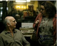MARCIA DeBONIS signed CURB YOUR ENTHUSIASM 8x10 uacc rd coa LARRY DAVID proof