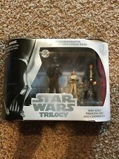 Star Wars Disney Empire Strikes Back Trilogy Commemorative Collection Figures
