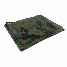 More details for silverline cut 2.4 x 3m / actual 2.3 x 2.85m camouflage tarpaulin 488443