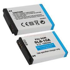 SLB-10A 1200mAh Li-ion Battery for Samsung SL420 SL620 WB550 WB500 / 2PCS CA