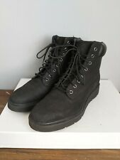 Ladies Timberland Kenniston Boots Black Nubuck Size UK 5.5 EU 38.5 A15TM