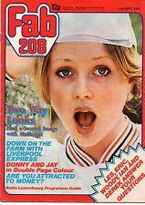 Fab 208 Magazine 11 September 1976     Donny & Jay Osmond     Liverpool Express