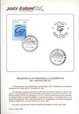 ITALIA 1994 VERTICE G7 COMPLETO DI FRANCOBOLLI  FDC