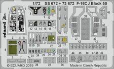 Eduard 1/72 Lockheed-Martin F-16CJ Block 50 Zoom Set # SS672