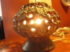 Vintage 1970s.Table ceramic lamp EGO Stengods Atelje Designer Bruno Karlsson.