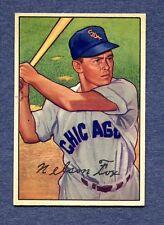 1952 Bowman #21 Nellie Fox - White Sox  NM