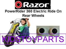Razor POWERRIDER 360 Rear Wheels set of 2 (buy 1 and 2 rear wheels are shipped)