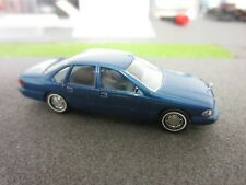 Ho 1/87 Busch Chevrolet Caprice #47601 Custom Blue  w/Hand Painted Blue interior
