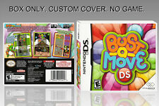 "NINTENDO DS : BUST A MOVE DS. UNOFFICIAL COVER. ORIGINAL BOX. ""NO GAME"". ENGLISH"