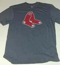 Boston Red Sox Majestic Mens Ultra Soft Licensed Blended T-Shirt New Large