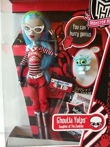 Monster High Ghoulia Yelps Daughter of the Zombies Original Ghouls Doll *In Box*