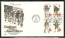 US SC # 1568a United States Military Services FDC. Artcraft Cachet.